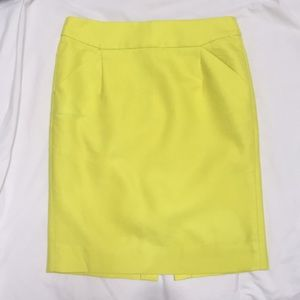 Jcrew knee-length pencil skirt